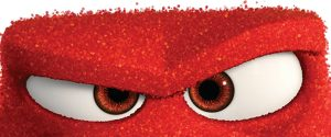 angry cartoon character